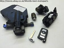 BMW E65 E66 740i FL (1) LOCKS SET KEY 6924712 DME 7523368 0261209002