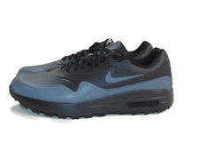 Nike Men's Triple Black Air Max 1 G Spikeless Integrated Golf Athletic Shoes