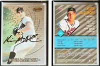 Kevin McGlinchy Signed 1997 Bowman's Best #122 Card Atlanta Braves Auto