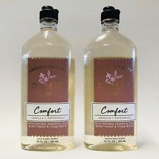 2 Bath & Body Works Aromathérapie Confort Vanille Patchouli Lavage & Mousse