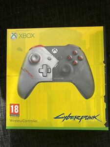 Microsoft Xbox One Cyberpunk 2077 Limited Edition controller pad New InHand Rare