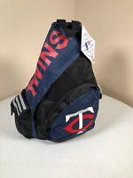 Minnesota Twins Sling Backpack Bag Concept ONE MLB Blue Zippered