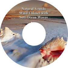 Natural Sounds Wind Chimes with Soft Ocean Waves CD Relaxation Stress Relief