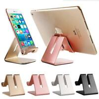 Universal Aluminum Desktop Desk Stand Holder Mount For Cell Phone and Tablet MA
