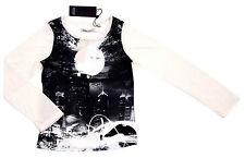 Mädchen-T-Shirts & -Tops aus Mischgewebe mit Motiv