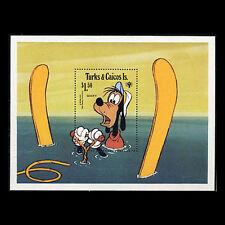 Turks & Caicos, Sc #0408, MNH, 1979, S/S, Disney, Goofy, DI288F