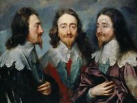 PAINTING VAN DYCK PORTRAIT KING CHARLES I ENGLAND   POSTER ART PRINT HP3492