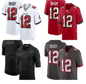Tom Brady #12 Tampa Bay Buccaneers Men's Stitched Limited Jersey