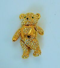 Joan Rivers Articulated Movable Teddy Bear Pin