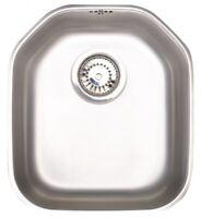 & Astracast Echo S1 Single 1 Bowl Stainlesss Steel Undermount Sink Kitchen B45