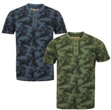 Henley Graphic Tee Regular Size T-Shirts for Men