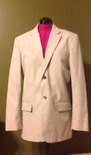 Banana Republic Cotton Sports Coat Blazer Men's Size 44L Tan Natural Jacket