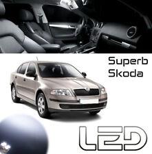 Skoda SUPERB Pack 6  Ampoules LED Blanc Plafonnier éclairage intérieur