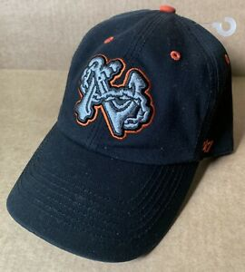 NORFOLK TIDES ROAD GAME BASEBALL CAP HAT, 47, ANCHOR CHAIN, SMALL, NORFOLK, VA