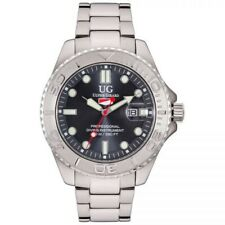 Ulysse Girard - Shark Sport Diver Mens Watch 42MM Gray Analog Waterproof to 100M