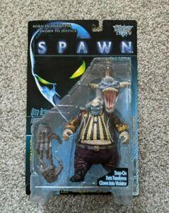 SPAWN the Movie The Clown & Violator Action Figure by McFarlane Toys 1997 NIB