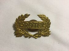 WWII ROTC VINTAGE HAT INSIGNIA PIN - PIN BACK