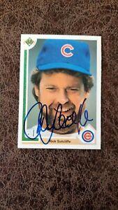 1991 Upper Deck Rick Sutcliffe #473 - Chicago Cubs - Autographed!