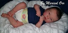 Anatomically Correct Realistic Reborn Baby Boy Cotton Blue By Marisol Orr