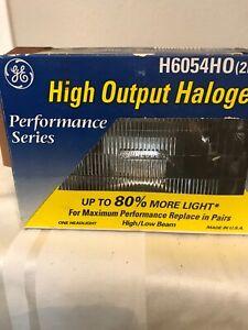 Headlight Bulb-High Output Boxed Headlight Bulb GE Lighting H6054HO