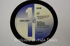 "Mikki Bleu, Knocks me off my feet (VG) LP 12"""
