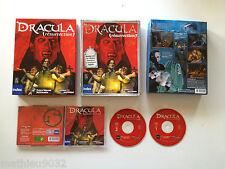 Dracula La Resurrection Point & Click PC FR Big Box carton