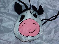 Shopper Einkaufs Geschenk Tasche Kuh weiß faltbar NEU