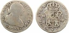 Espagne, real, Charles III, 1774 Séville, argent - 132