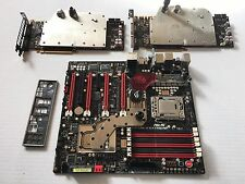 ASUS Rampage III Extreme GTX 580 X2 i7-920 High Performance Water Cooling
