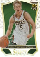 2013-14 Select Prizms Refractor #168 Nate Wolters Milwaukee Bucks