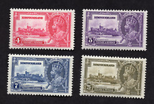 Newfoundland #226 to 229 Complete Silver Jubilee Issue MNH