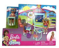 Barbie Club Chelsea School Doll Playset NEW