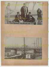 CHINESE PHOTOS MILITARY ETC ? SHANGHAI TIENTSIN PEKING ? CHINA ALBUM PAGE C.1900