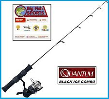 "QUANTUM BLACK ICE Fishing Rod And Reel Combo 24"" Long FREE USA SHIP! #QIBKU24ML"