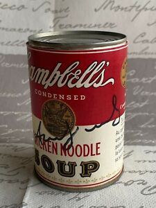 ANDY WARHOL -  Campbell's Soup Can ! CHICKEN NOODLE !!