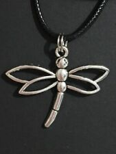 """Silver Dragonfly Necklace 18"""" New In Box!"""