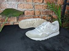 New listing Reebok Classic Nylon Pink White Grey Suede Women's Trainers Shoes UK Size 5