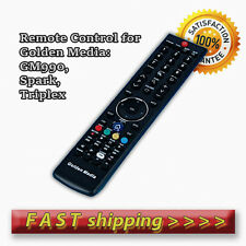 Remote Control for Golden Media GM990, Spark, Triplex Satellite Boxes - Original