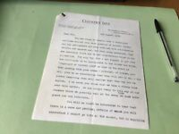 Country Life London 1932 letter Edwin Chappell  Ref 50687