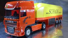 * Herpa 302340 DAF XF 105 SSC Glass Transporter Semitrailer Schade 1:87 Scale HO
