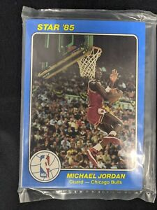 1985 STAR COURT KINGS 5X7 SEALED SET MICHAEL JORDAN RC MJ1