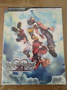 Guide officiel Kingdom Hearts Dream Drop Distance, US, Bradygames,excellent état