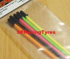 Tubo antenna per tutti i tipi di automodelli Mugen Kyosho TAMIYA colorati (5pz.)