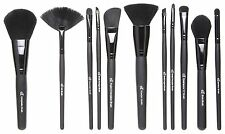 ELF STUDIO Face Brush Powder Blush Bronzer Foundation Stipple Fan Kabuki e.l.f.