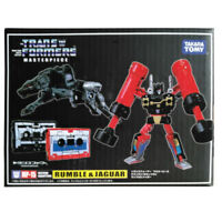Takara Transformers Masterpiece MP15 Rumble & Jaguar Cassettes Action Figure Toy