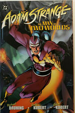 ADAM STRANGE THE MAN OF TWO WORLDS BY BRUNING & KUBERT~ DC TPB NEW OOP
