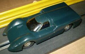 ELDON CHAPARRAL BLUE VINTAGE SLOT CAR  1/32