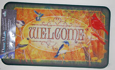 "17.7"" x 30"" Indoor/Outdoor Welcome Bird Scene Door Mat #1865"