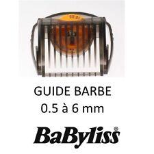 BABYLISS 35807790 0.5 6 MM CONAIR Guide barbe tondeuse 3 jours W TECH E779 E769