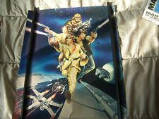 """Vintage 1978 Proctor & Gamble """"Star Wars"""" Poster + Poster Hanger"""